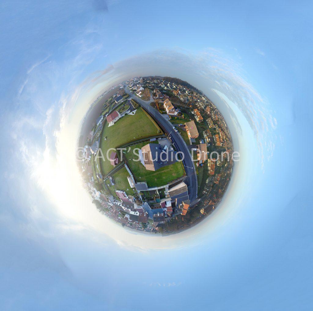 Photos aériennes par drone Nord