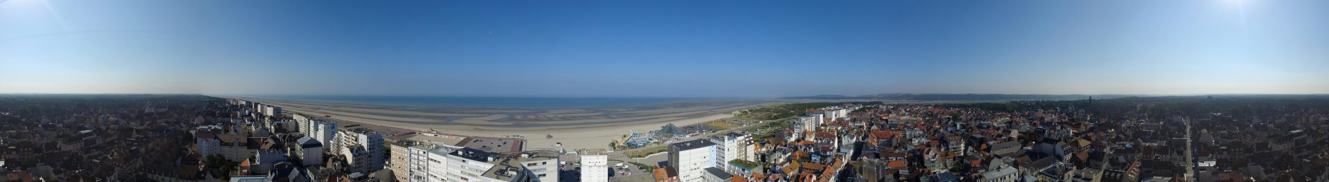 Photo panoramique Le Touquet Paris Plage