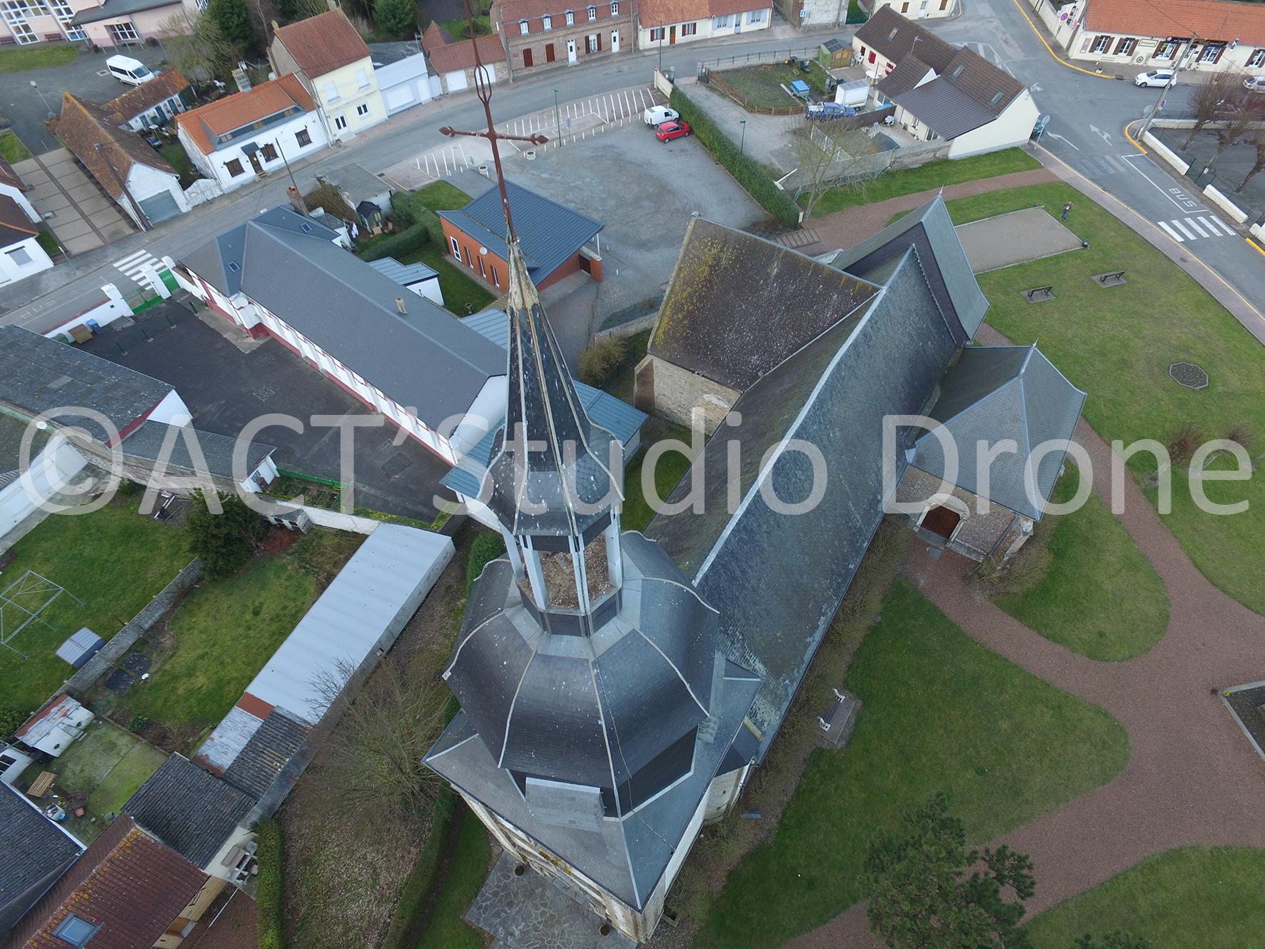 Drone Hauts de France modélisation 3D